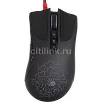 Мышь A4 Bloody AL90 Blazing лазерная проводная USB, черный