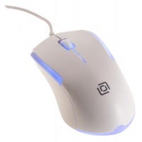 Мышь OKLICK 245M оптическая проводная USB, белый